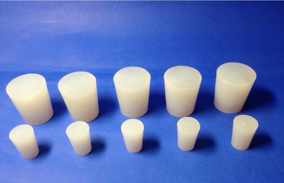 Nút cao su y tế silicone