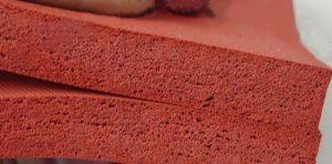 Tấm silicone xốp cho ngành may