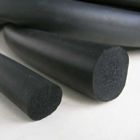 Dây cao su xốp tròn đặc phi 10 (d10 - 10mm)