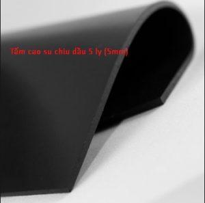 Tấm cao su chịu dầu 5 ly (5mm)