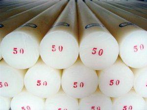 Cây nhựa teflon ptfe phi 50 (D50)