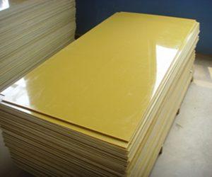Tấm nhựa phíp thủy tinh màu vàng chanh
