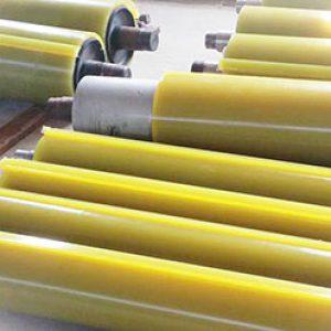 Bọc trục, con lăn, rulô bằng nhựa PU