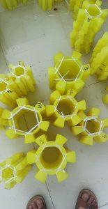 Khớp nối hoa thị nhựa PU