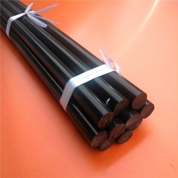 Nhựa Pom cây tròn màu đen